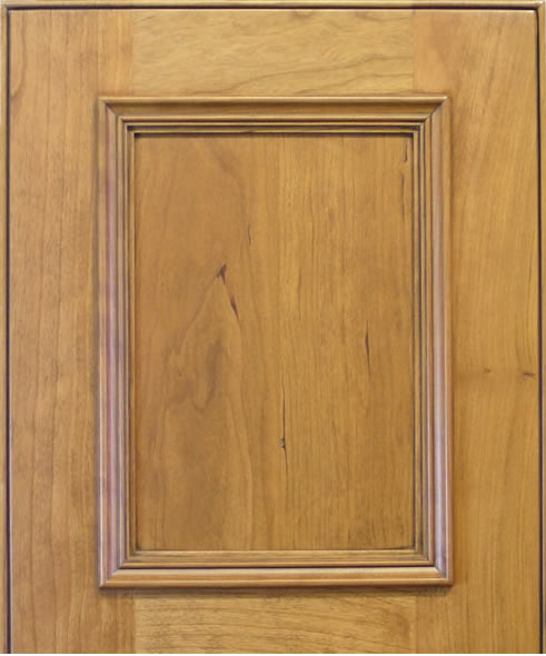 Raised Molding #34 Cabinet Door in Cherry