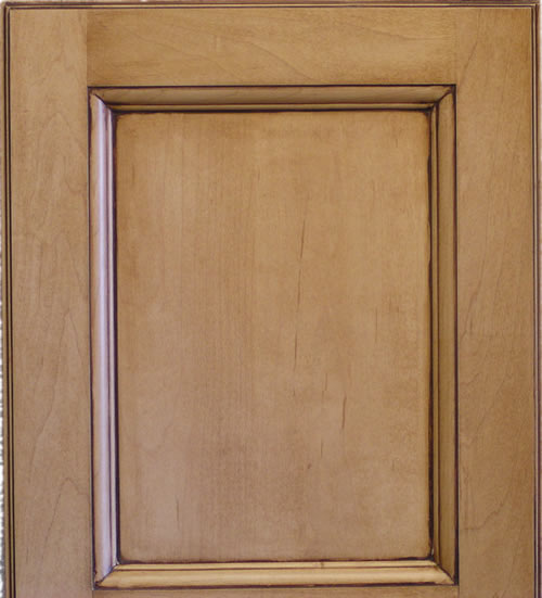 Recessed Panel Cabinet Door with Executive Frame